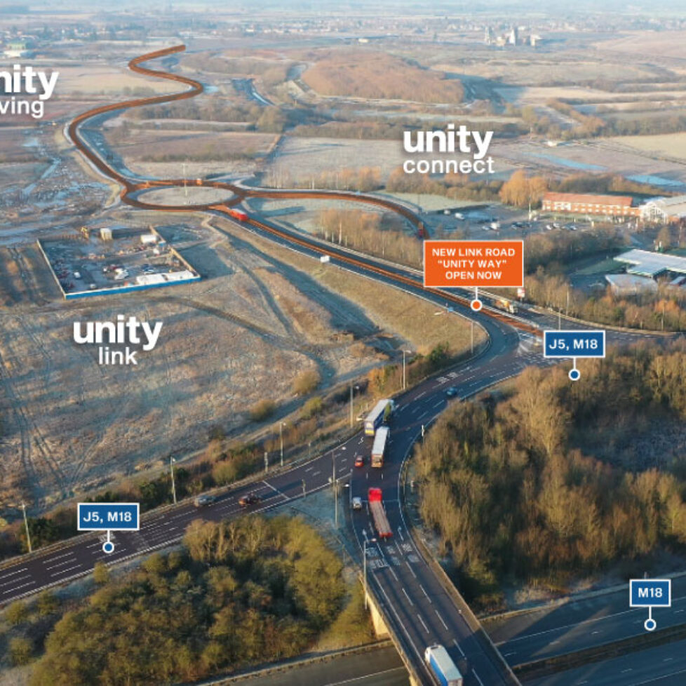 Unity Aerial Feb 2021
